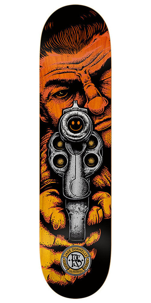 Real Jake Donnelly Sure Shot - Black - 8.38 x 32.56 - Skateboard Deck