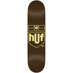 Real Huf Delivery - Brown - 8.18 x 31.84 - Skateboard Deck