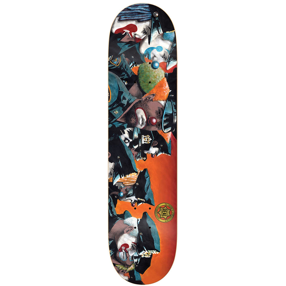 Real To Swerve and Neglect LG - Orange - 8.5 x 32.18 - Skateboard Deck