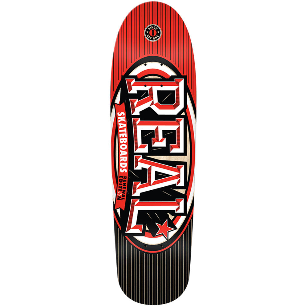 Real Renewal Stacked Dune - Red - 9.0 x 32.15 - Skateboard Deck
