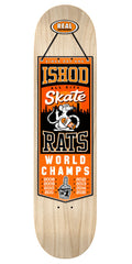 Real Ishod Champions - Natural Assorted/Orange - 8.25in x 32.0in - Skateboard Deck