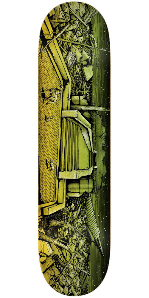 Real Justin Ramondetta After Math - Multi - 8.38in x 32.25in - Skateboard Deck