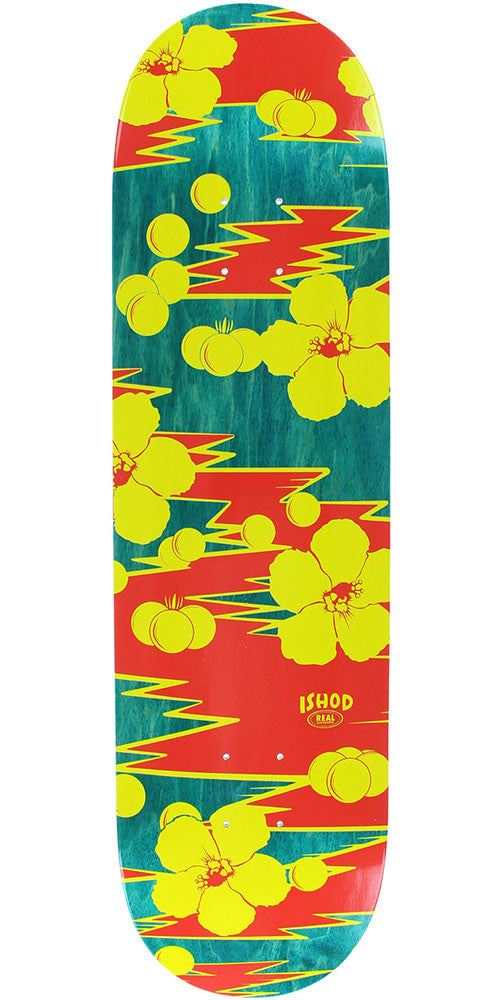 Real Ishod Wair Lost Signal - Multi - 8.38in x 32.56in - Skateboard Deck