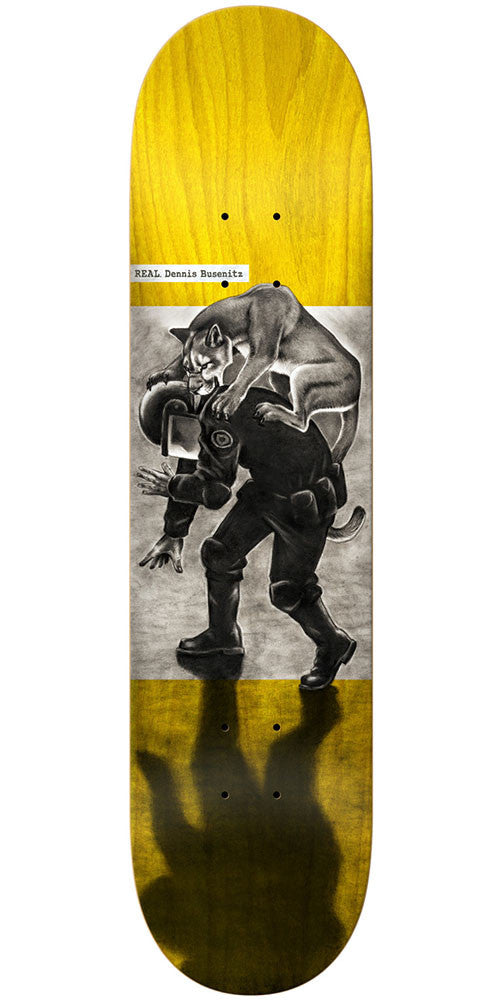 Real Dennis Busenitz Revolt - Assorted - 8.06in x 31.8in- Skateboard Deck