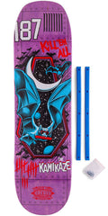 Real Wrecking Crew Bomber Kamikaze 3 - Purple - 8.25in x 32.4in - Skateboard Deck