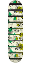 Real Brockel In Bloom - Multi - 8.02in x 31.3in - Skateboard Deck