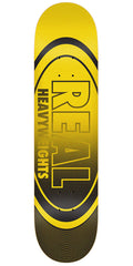 Real Heavyweight - Yellow/Black - 8.25in x 32.0in - Skateboard Deck