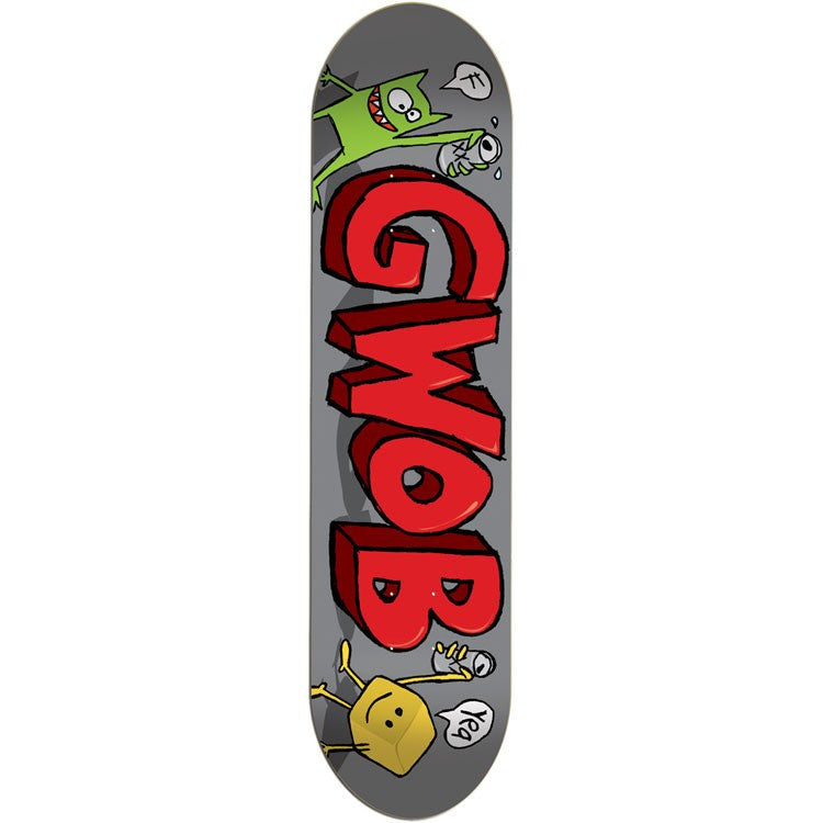 Foundation G.W.O.B. II - Grey - 8.25 - Skateboard Deck