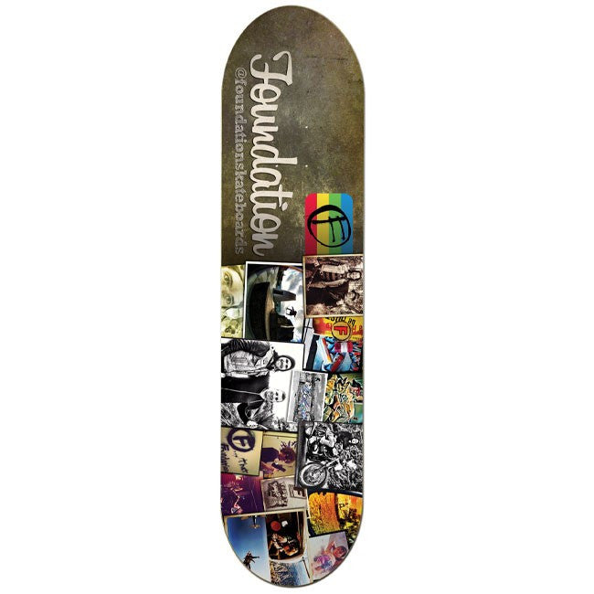 Foundation Team Instadeck - Multi - 8.0 - Skateboard Deck