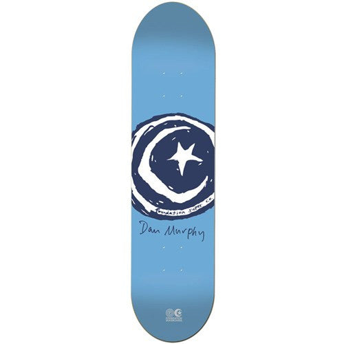 Foundation Dan Murphy Star & Moon Signature - Blue - 7.75 - Skateboard Deck