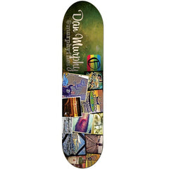 Foundation Dan Murphy Instadeck - Green/Multi - 8.125 - Skateboard Deck