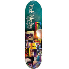 Foundation Nick Merlino Instadeck - Cyan/Multi - 7.875 - Skateboard Deck