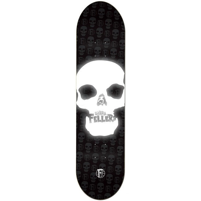 Foundation Sierra Fellers Venture Bros - Black/White - 7.875 - Skateboard Deck