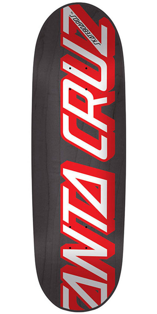 Santa Cruz 1990 Strip - Black - 8.75in x 31.6in - Skateboard Deck
