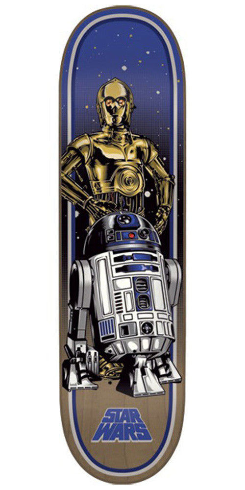 Santa Cruz Star Wars Droids - Blue/Grey - 8.375in x 32.0in - Skateboard Deck