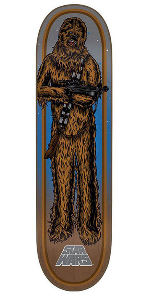 Santa Cruz Star Wars Chewbacca - Brown - 8.26in x 31.7in - Skateboard Deck