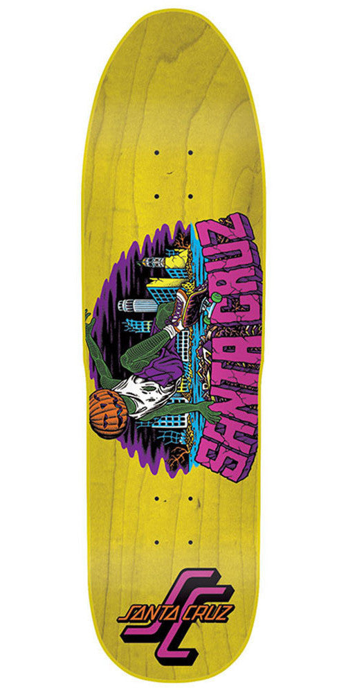 Santa Cruz Kendall Pumpkin II - Yellow - 32.0in x 8.625in - Skateboard Deck