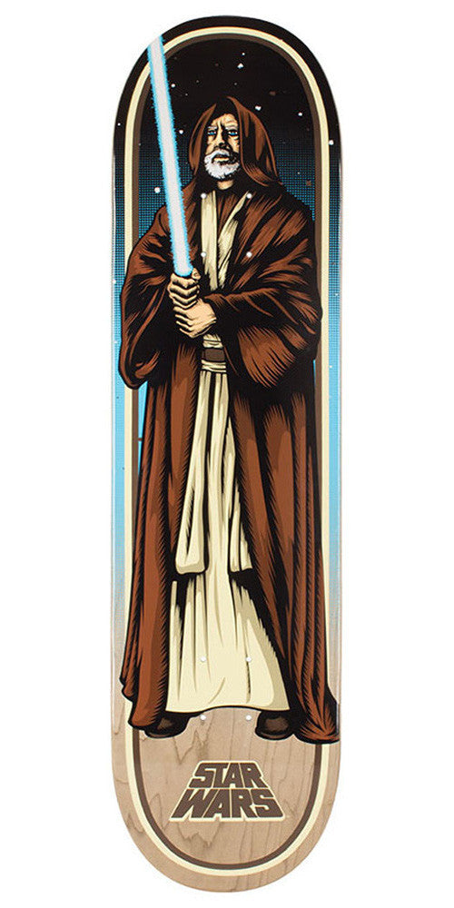 Santa Cruz Star Wars Obi-Wan Kenobi - Multi - 31.7in x 8.26in - Skateboard Deck