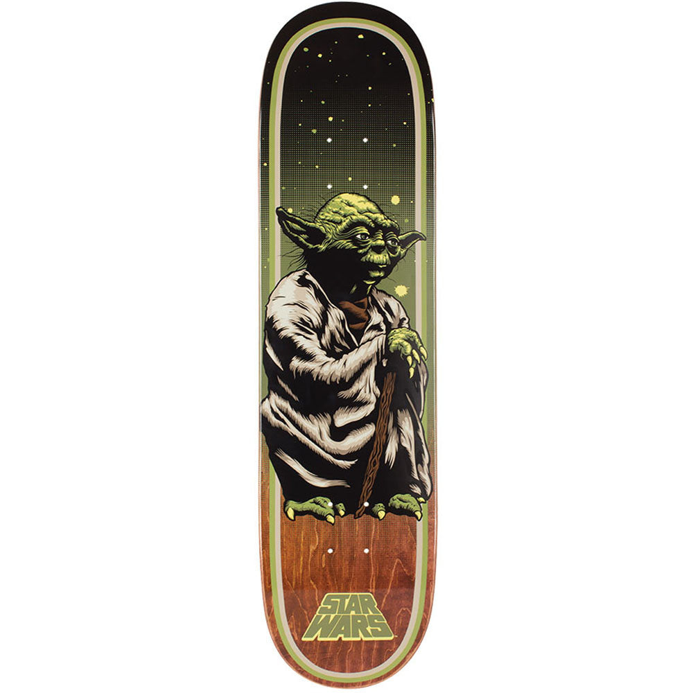 Santa Cruz Star Wars Yoda - Multi - 31.6in x 8.0in - Skateboard Deck