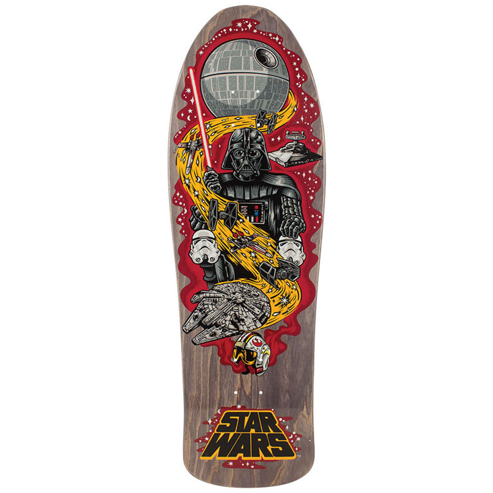 Santa Cruz Star Wars Vader Neptune - Black - 31.59in x 10.14in - Skateboard Deck