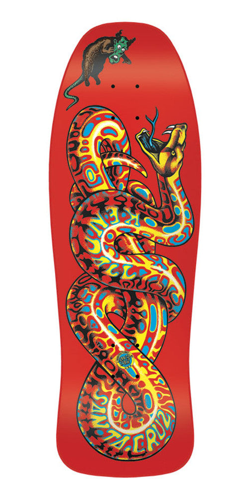 Santa Cruz Kendall Snake Reissue - Red - 30.125in x 9.975in - Skateboard Deck