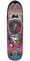 Santa Cruz Salba Pool Shark Pro - Black/Pink - 8.9in x 32.5in - Skateboard Deck