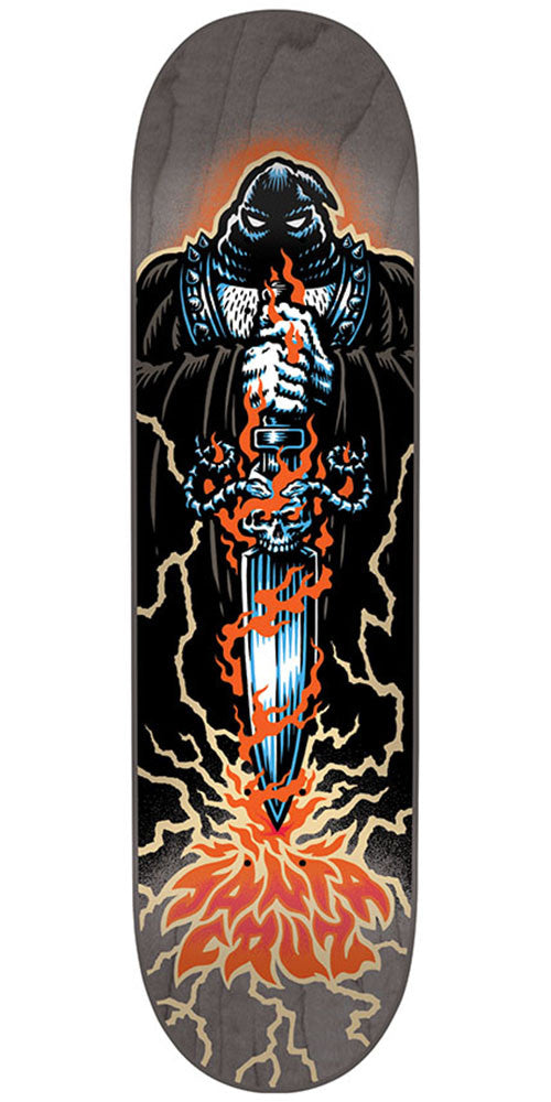 Santa Cruz Executioner Team - Multi - 7.75in x 31.4in - Skateboard Deck