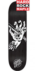 Blemished - Santa Cruz Stabbed Hand Hard Rock Maple - Black - 8.25in x 31.8in - Skateboard Deck