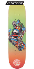 Santa Cruz Pitchgrim Hand Everslick - Multi - 8.25in x 31.8in - Skateboard Deck