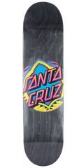 Santa Cruz Neon Dot - Black - 7.75in x 31.4in - Skateboard Deck