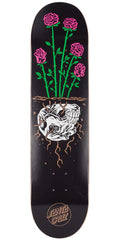 Santa Cruz Death Rose - Black - 7.75in x 31.4in - Skateboard Deck