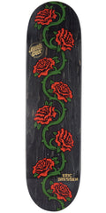 Santa Cruz Dressen Rose Vine - Black - 8.5in x 32.2in - Skateboard Deck