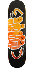 Krooked Bobby Worrest Yutes - Black - 8.38in x 32.43in - Skateboard Deck