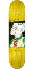 Krooked Sebo Walker Jekyll - Yellow - 8.18in x 31.84in - Skateboard Deck