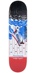 Krooked Sebo Lady Liberty - Multi - 8.06in x 31.91in - Skateboard Deck