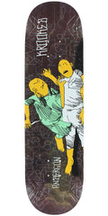 Krooked Mike Anderson Street Justice Slick - Assorted Multi - 8.25in x 32in - Skateboard Deck