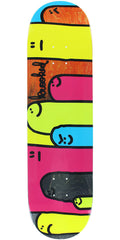 Krooked Hoi Polloi Split Stain - Assorted - 8.12in x 31.84in - Skateboard Deck