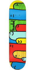 Krooked Hoi Polloi Split Stain - Assorted - 8.25in x 32in - Skateboard Deck