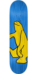 Krooked Schmoo Cut - Blue - 8.06in x 31.97in - Skateboard Deck