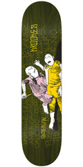 Krooked Mike Anderson Street Justice - OIive - 8.25in x 32in - Skateboard Deck