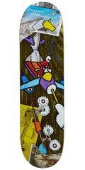 Krooked Drehobl Tore Up - Multi - 8.25in x 32.25in - Skateboard Deck