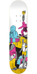 Krooked Gonz Scam Artist - Multi - 8.18in x 31.85in - Skateboard Deck