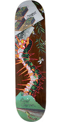 Krooked Cromer Tore Up - Multi - 8.06in x 31.8in - Skateboard Deck