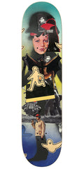 Krooked Ronnie Collage - Multi - 8.5in x 32.25in - Skateboard Deck