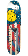 Krooked Anderson Ima - Multi - 8.25in x 32.0in - Skateboard Deck