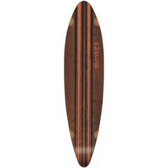 Globe Pinner - Black/Orange - 41.25in - Skateboard Deck