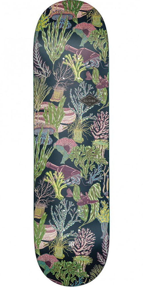 Globe Full On - Tidepool - 8.25in x 31.75in - Skateboard Deck