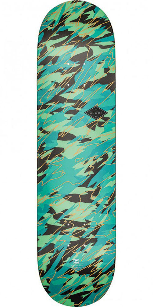 Globe Full On - Watershed - 8.0in x 31.6in - Skateboard Deck