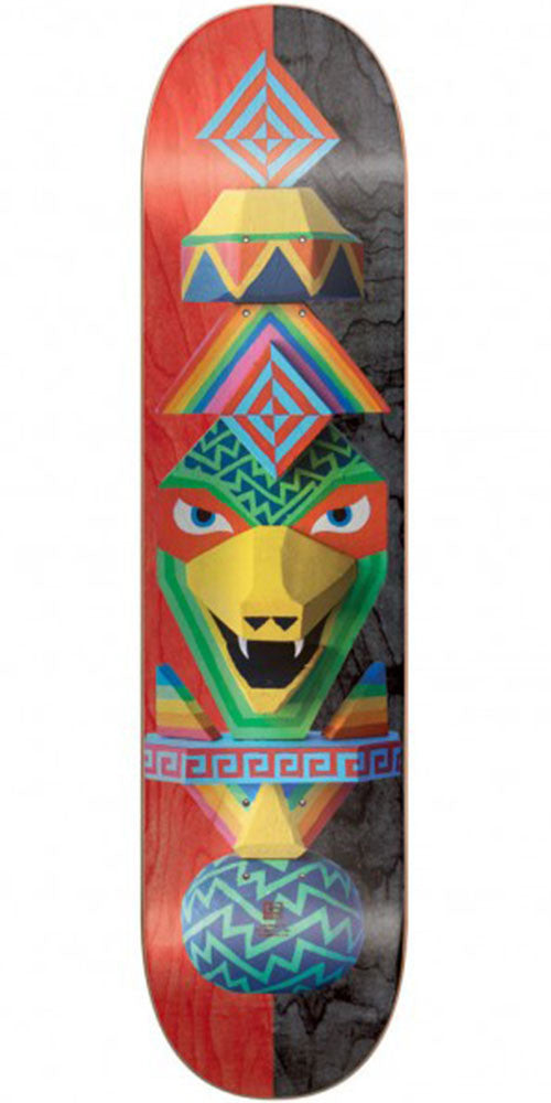 Globe Totems - Rainbow Serpent - 7.75in x 31.75in - Skateboard Deck