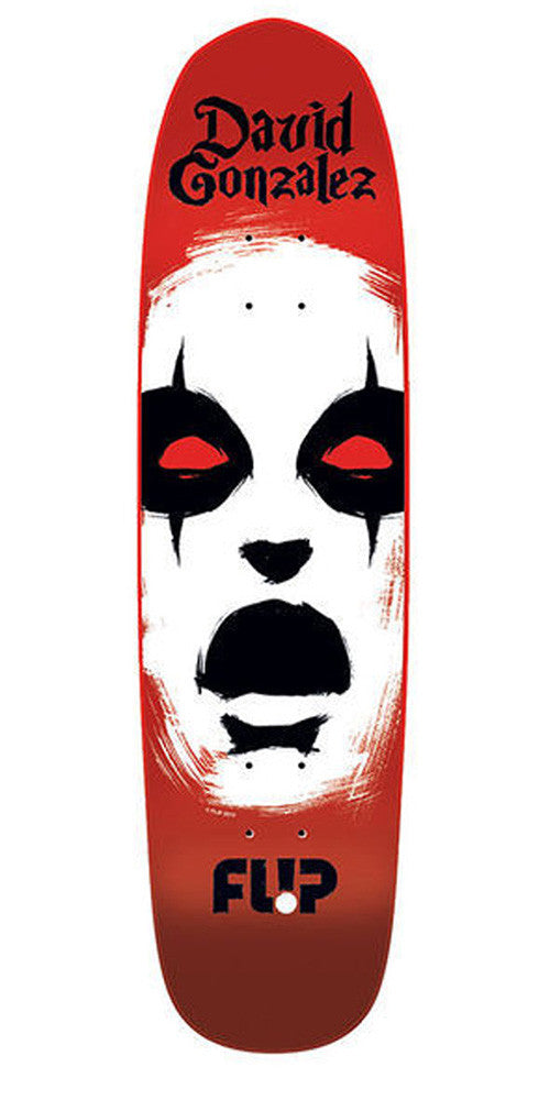 Flip Gonzalez Axe Man - Red - 8.25 - Skateboard Deck